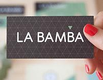 Imagen corporativa para La Bamba