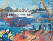 Falmouth Dock Mural Project