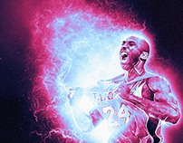 Kobe Bryant series piece 3