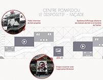 Création numérique dans l'espace urbain