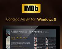 IMDB App - Concept Design for Windows 8