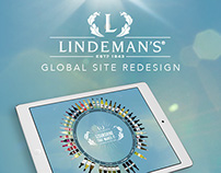 Lindeman's - Global Website Redesign