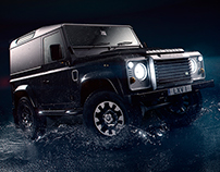 Defender LXV Splash Test | CGI & Retouching