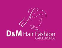 D&M Hair Fashion Cabeleireiros - Branding
