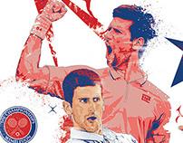 Djokovic Wimbledon Champ 2014