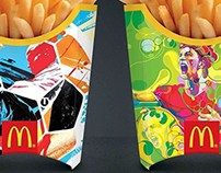 Mcdonald's // Tes One and Martin Sati