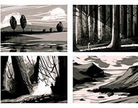15 minute composition sketches