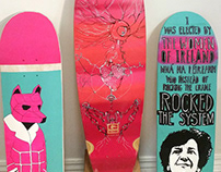Skate Deck Design Collection