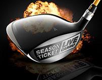 Master's live Casino promotion microsite