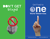 Print AD - one world teleservices