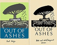 Out of Ashes (permaculture farm) - Logo design