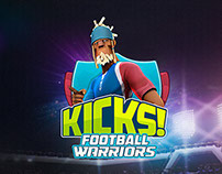 """Kicks! Football Warriors"" GAME UI DESIGN"
