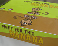 Fight for this banana