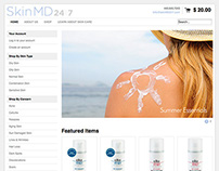 Skin MD 24/7 Website (in progress)