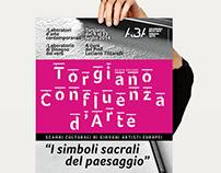 Locandina/invito TORGIANO CONFLUENZA D'ARTE 2014