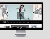 ELLE DENMARK web