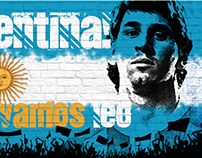 Vamos Leo! Vamos Argentina!