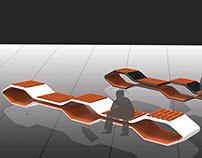 HONEYCOMB Bench- Concept