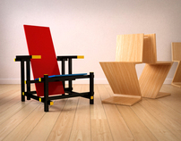 TWO CLASSICS CHAIRS / 3D