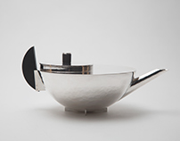Bauhaus Teapot Reproduction