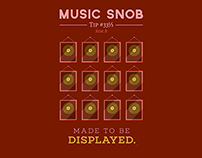 Made to be Displayed — Music Snob Tip #33⅓ B