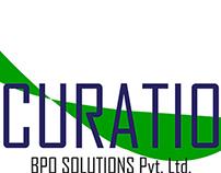 Logo designing for Curatio BPO Solutions Pvt. Ltd.