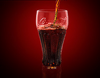 CocaCola (Fluid Simulation)