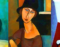 Picasso + Modigliani