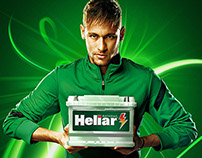 Heliar car battery