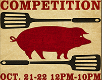 BBQ cookoff poster