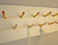 pencil case / cloth hanger