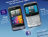 o2 - HTC Facebook Campaign