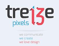 13pixels.be | 2014 identity