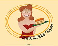 Infographics - Pancakes recipe