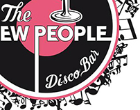 "Logotype to Pub ""The New People"""