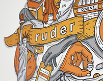 Ruder Finn - Office mural