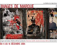 Visuel pour exposition d'affiches de théâtre