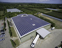 Aerial Photography of Solar Panels