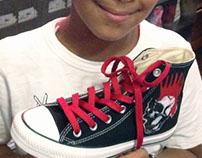 Custom Converse Sneakers