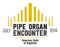 Pipe Organ Encounter 2014 T-Shirt
