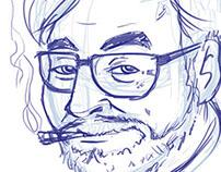 sketch miyazaki