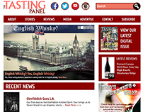 The Tasting Panel / SOMM Journal Web Redesigns