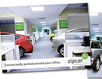 Zipcar for Business Postcard
