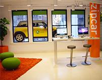 Zipcar Store Design
