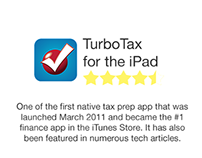 TurboTax for the iPad