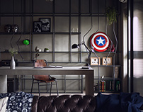 HAO DESIGN | MARVEL'S SAFEHOUSE