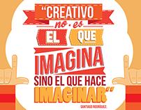 """""""Creativo no es el que imagina"""" parte 54"""