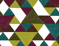 Mark Making 02 / Triangle Blocks