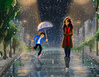 Walk together in the rain of this life!!