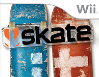 EA Sports - Skate Game Art